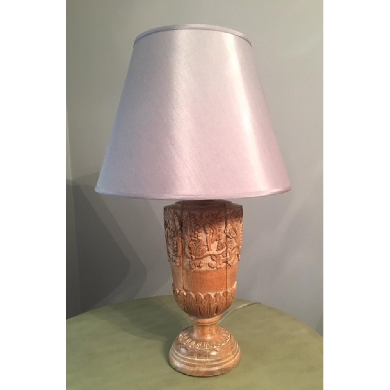 ballard designs natural wood table lamp aptdeco ballard designs natural wood table lamp 1
