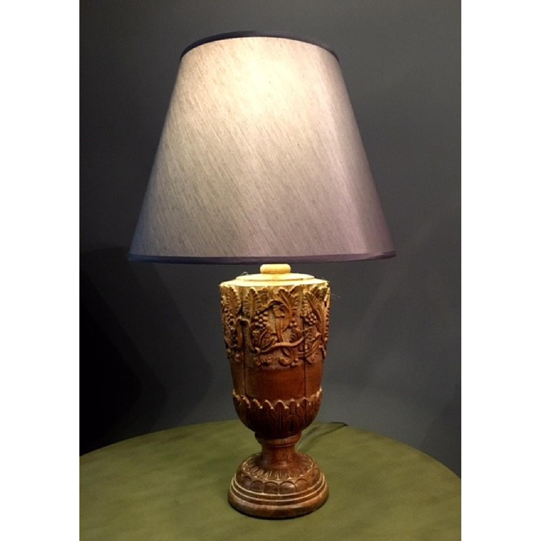ballard designs natural wood table lamp aptdeco ballard designs natural wood table lamp 2