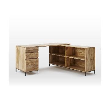 West Elm Industrial Storage Modular Desk