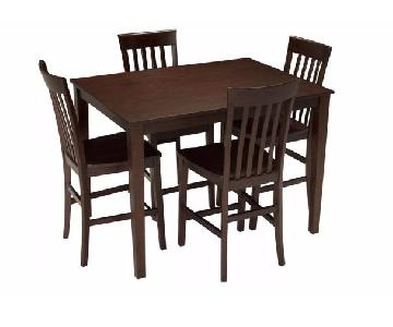 Raymour & Flanigan 5 Piece Counter-Height Dining Set