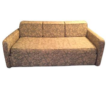 Fully Upholstered Daybed w/ Roll-Out Trundle