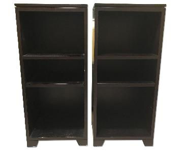 Crate & Barrel Matching Book Shelves