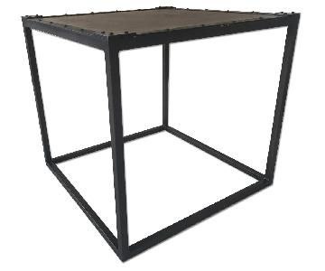 Restoration Hardware Square Side Table