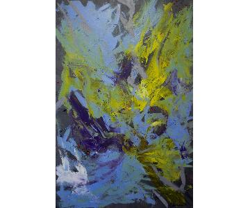 Abstract Acrylic Painting by Dan Johnson