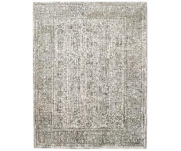 Restoration Hardware Mariposa Rug in Silver