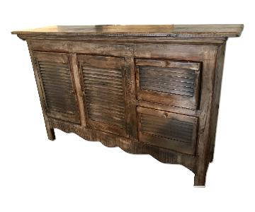 Home Goods Wood Sideboard