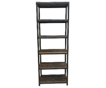 Reclaimed Wood & Iron Shelf