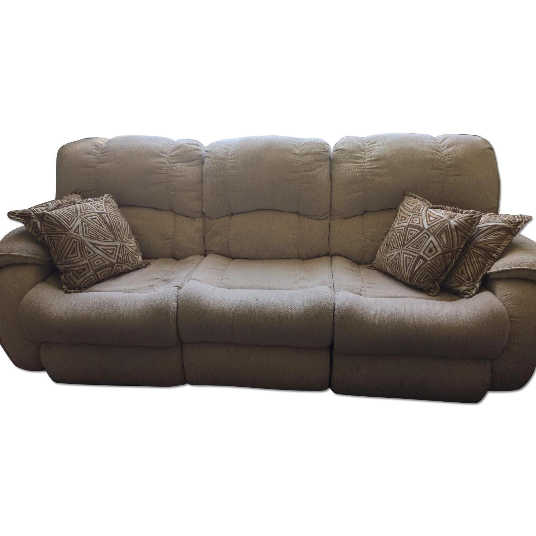 bobu0027s reclining massage sofa reclining loveseat