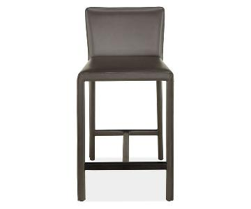 Room & Board Milan Counter Stool in Chocolate