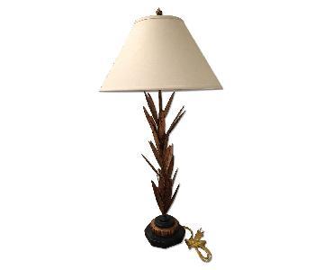 Black & Brown Base Table Lamp