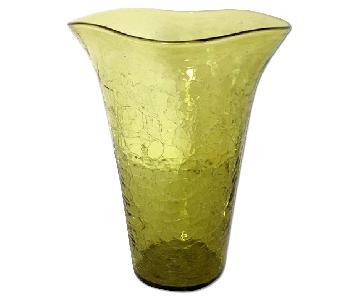 Vintage 1960's Glass Vase