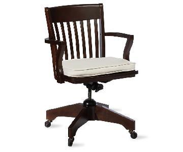 Pottery Barn Swivel Desk Armchair