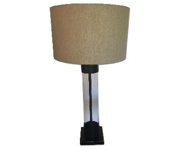 One Kings Lane Glass Tube Lamp