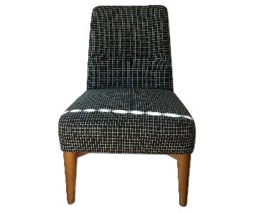 West Elm Accent Chair in Blue