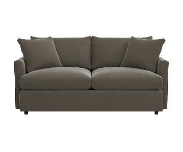 Crate & Barrel Lounge II Petite Apartment Sofa