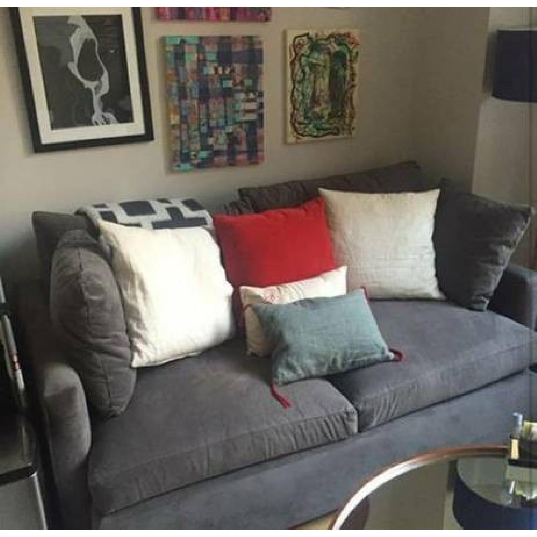 Crate & Barrel Lounge II Petite Apartment Sofa - AptDeco