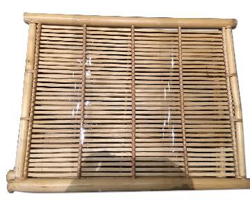Handmade Natural Bamboo Woven Trays