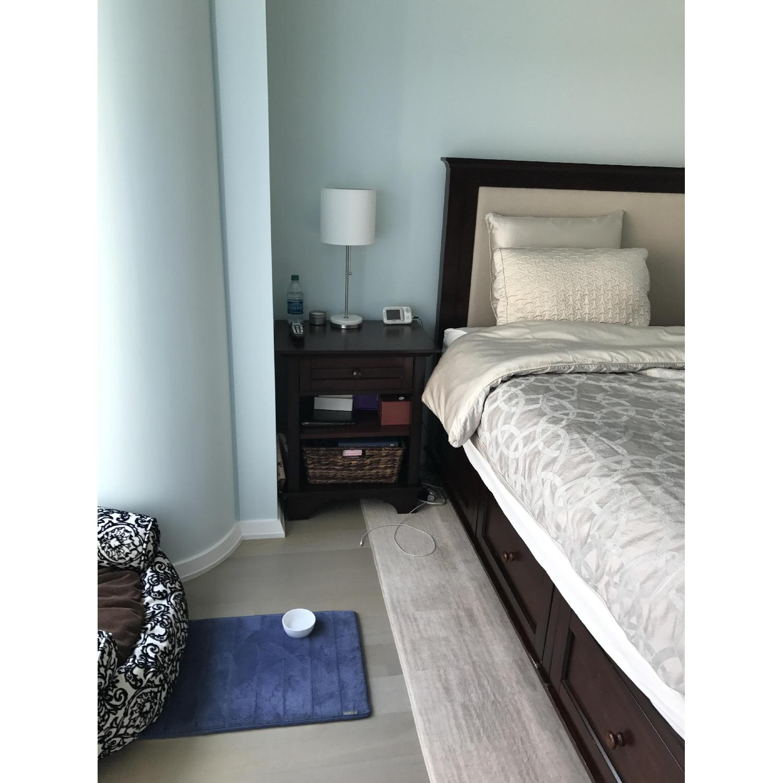 Bedroom Sets Pottery Barn pottery barn cynthia king size 4 piece bedroom set - aptdeco