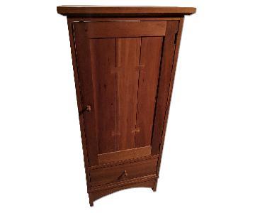 Stickley Cherry Audio Unit w/ Wood Door