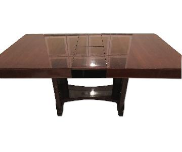 Depression Modern Art Deco Dining Room Table