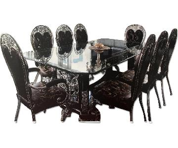 Royal House 9 Piece Formal Dining Set