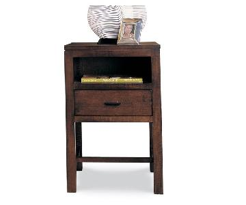 Durham Furniture Somo & Lodo Vintage Nightstand