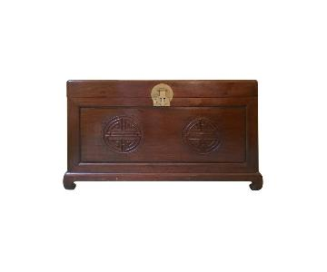 Vintage Chinese Rosewood Chest