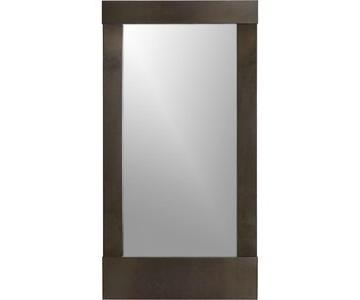 Crate & Barrel Parsons Floor Mirror