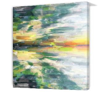 Parvez Taj Color Explosion Canvas Print