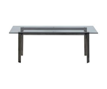 CB2 Bolt Dining Table