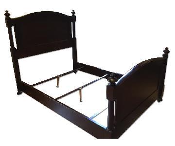Restoration Hardware Wood Bed Frame
