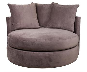 ABC Carpet and Home Swivel Accent Chair