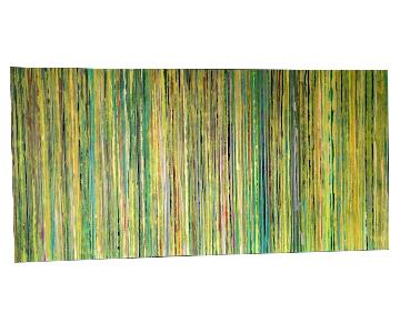 Z Gallerie Limecicles Abstract Wall Art