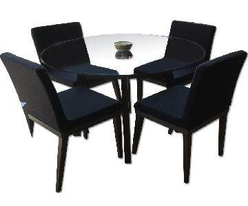 Room & Board Dining Table w/ 4 CB2 Chairs
