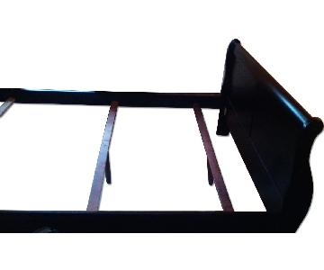 Twin Size Bed with Mirror Stand