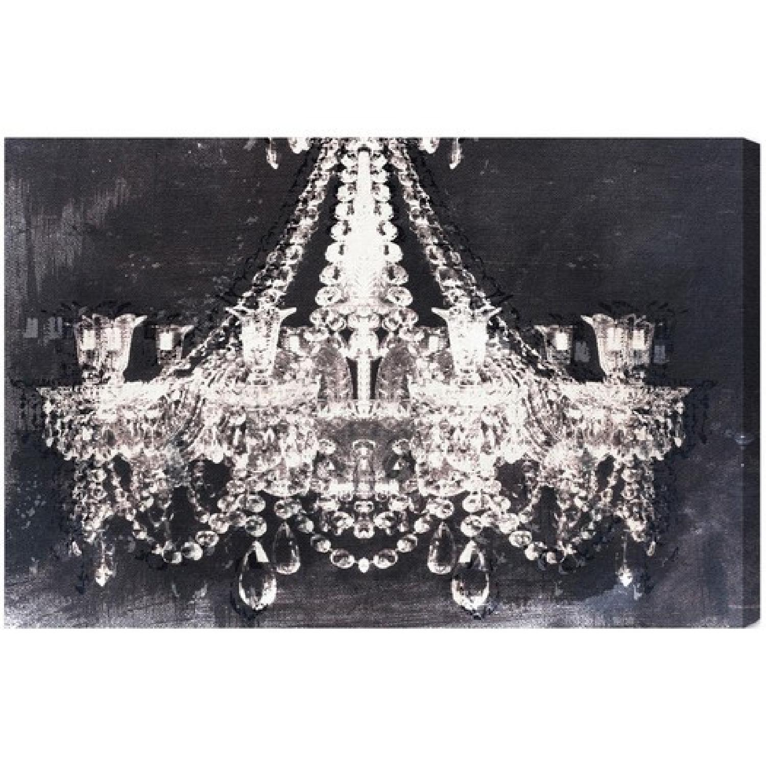Dramatic Entrance Night Graphic Art on Wrapped Canvas by Oliver Gal