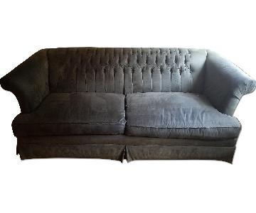 Henredon Custom Suede Sofa