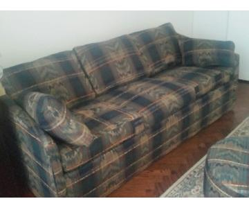 Castro Convertibles Fabric Sleeper Couch