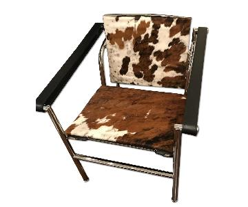 Design Within Reach Le Corbusier LC1 Cow Hide Sling Chair