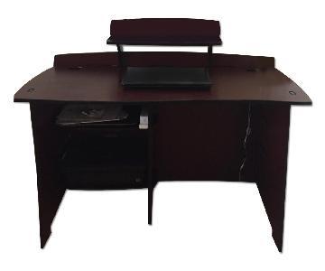 Pier 1 Multi-Shelf Customizable Desk