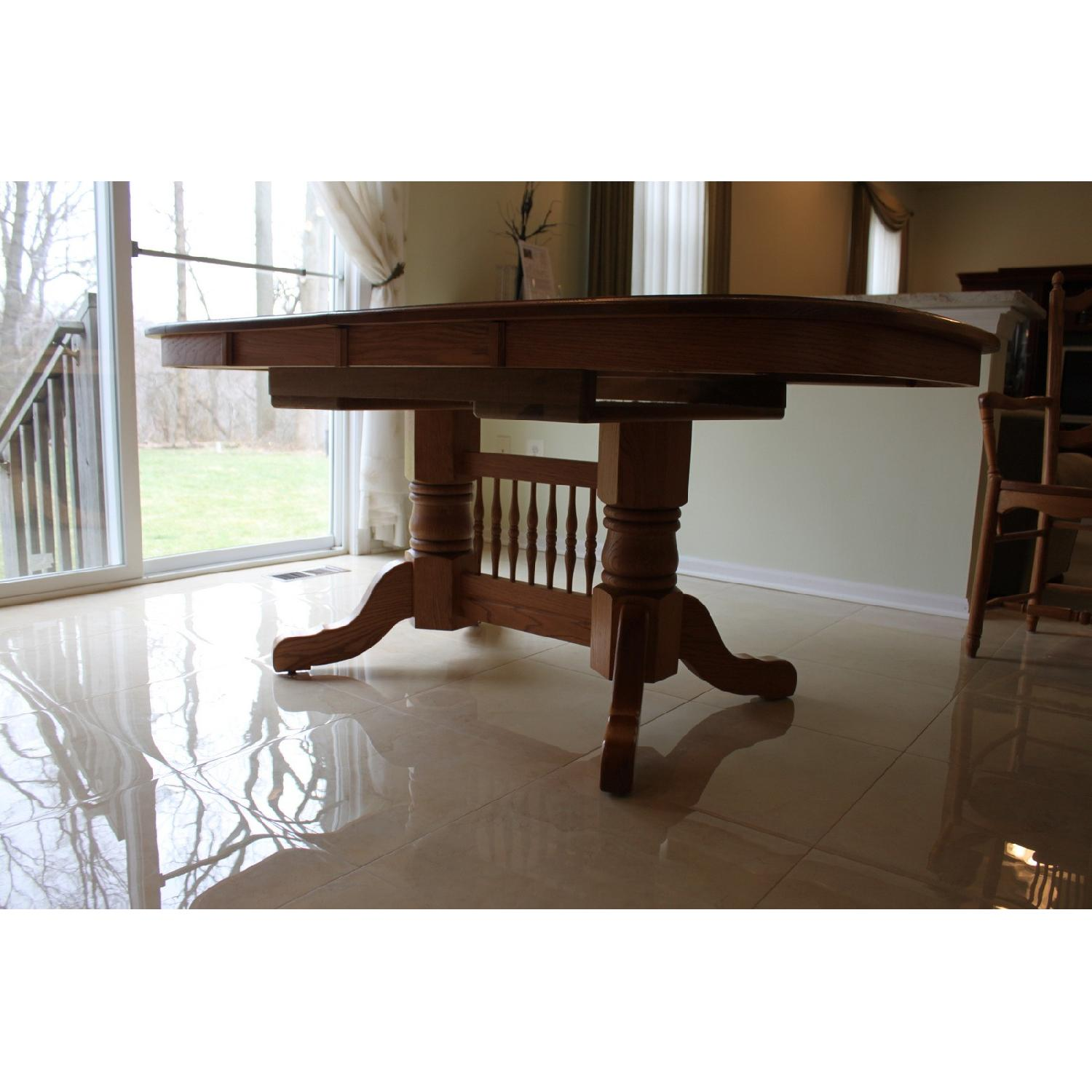 Dining Room 6 Chairs Part - 32: ... Edrich Mills Wood Shop Dining Table W/ 6 Chairs-1 ...