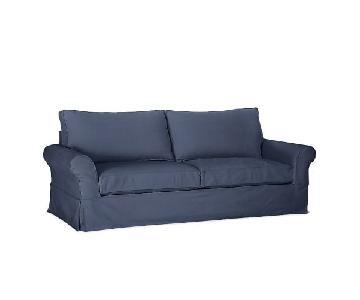 Pottery Barn Comfort Down Blend Slipcovered Sofa