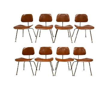 Herman Miller Eames DCM Chairs in Walnut