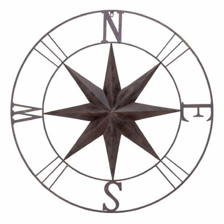 Wayfair Large Wall Decor Compass