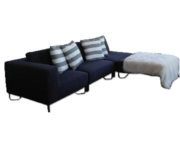 CB2 Lotus 4 Piece Sectional Couch
