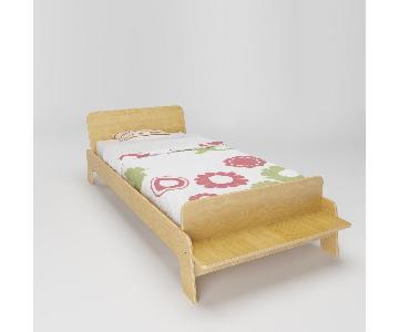 Wood Arlo Twin Bed Frame