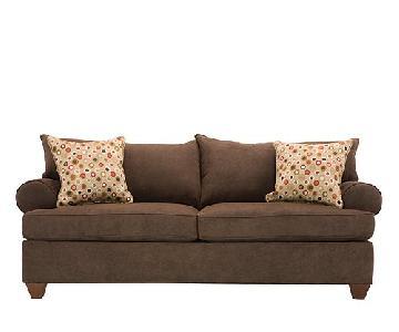 Raymour & Flanigan Vegas Brown Sofa