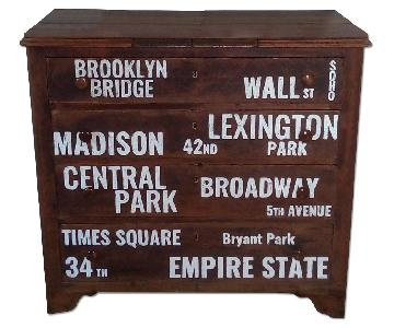 New York Solid Wood Dresser