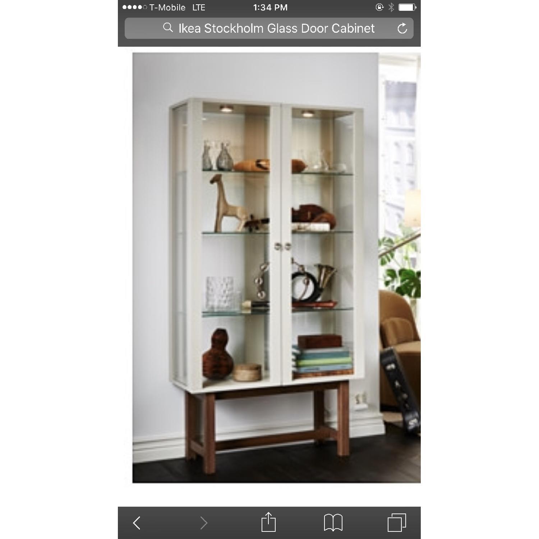 Ikea stockholm china cabinet aptdeco ikea stockholm china cabinet 2  stokkelandfo Images