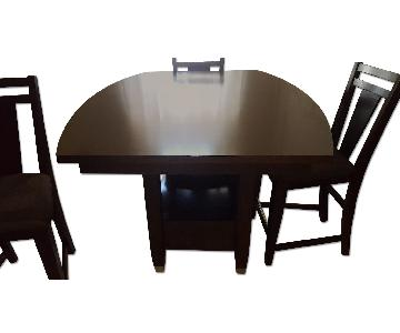 Raymour & Flanigan 5 Piece Extendable Dining Set